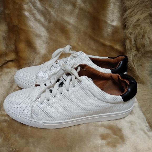 steve madden white sneakers men